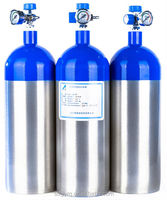 Newly Designed 2 L Gas Cylinders Welded Aluminum cylinder
