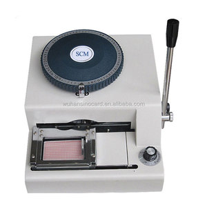 Dog Tag Manual Alphabet Emboss on Thin Aluminium Plates/Hand Operate Machine