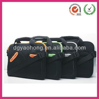 Fine quality neoprene men travelling laptop case with detachable strap (factory)