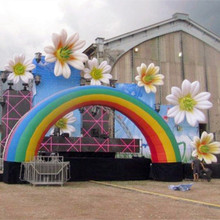 NB-FL4008 NingBang large party supply flower stage decoration