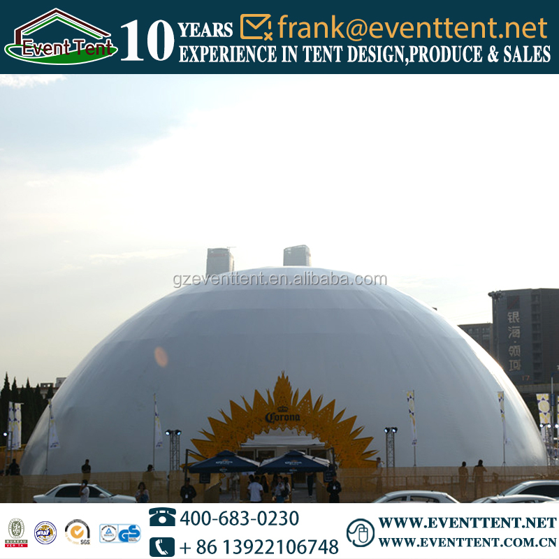 china best party dome tent, aluminium dome structure
