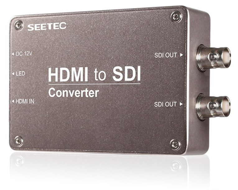 SEETEC new release single mode switch equipment hdmi to sdi media convertor