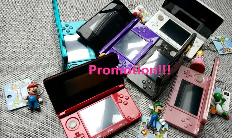 4.5 firmware Game Console for Nintendo 3DS game console