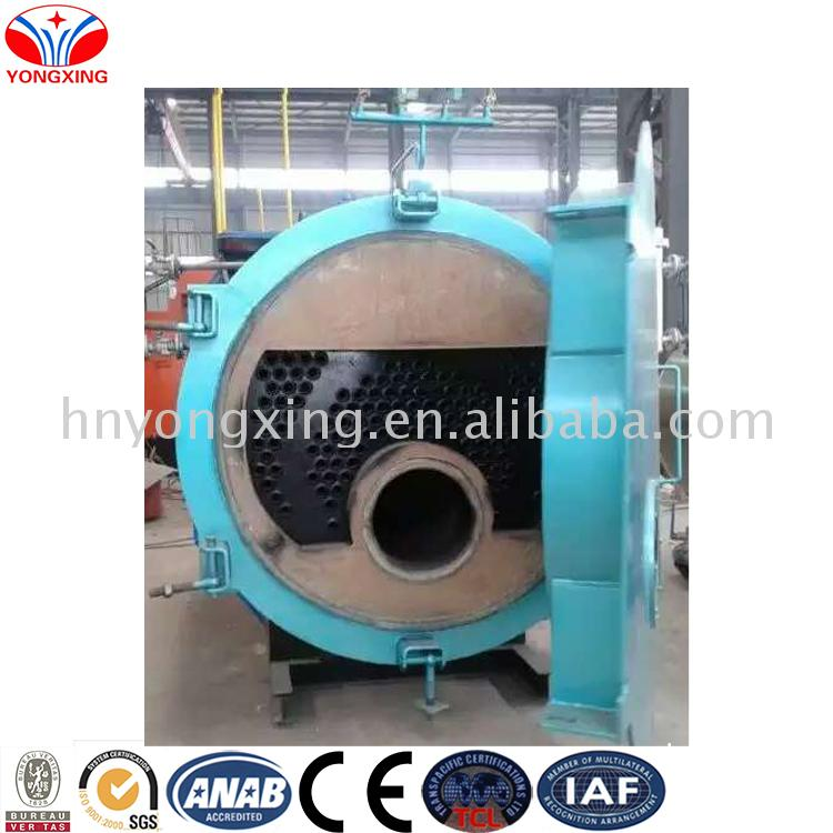 Industrial bagasse fired steam boiler 6 ton gas 1000kg for milk factory