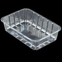 Customizable High Quality Vacuum Formed Blister Packaging Disposable Plastic Food Tray