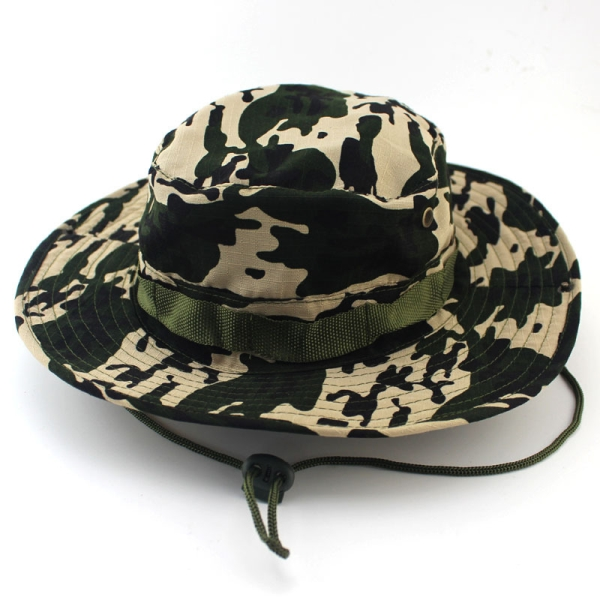 picture printed bucket hat