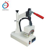 8*15 Mini manual hat heat transfer press machine for sale