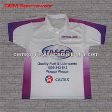 2014 fashion sublimation polo shirt for men as your design