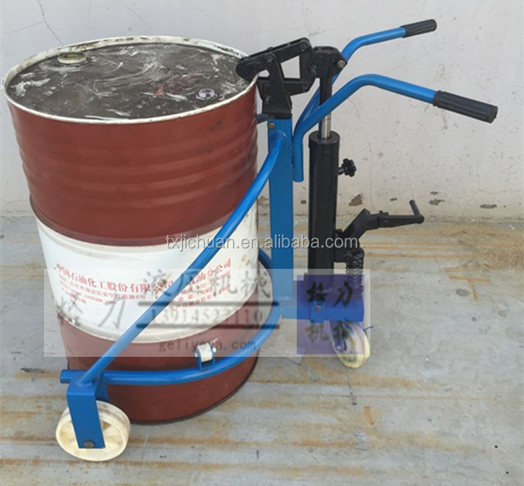 Manual warehouse equipment Oil Drum hand pallet truck/Oil Drum Carrier