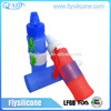 Heat-resistant Non-toxic Hygiene Foldable Soft BPA Free Silicone Rubber Airtight Water Bottle