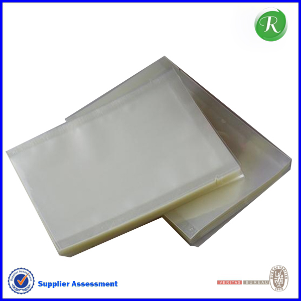85*120mm transparent custom clear self adhesive seal plastic photo packaging bag