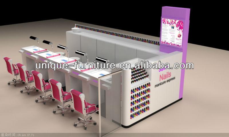 Por encargo de manicura y pedicura silla nail bar kiosco for Sillas para kiosco