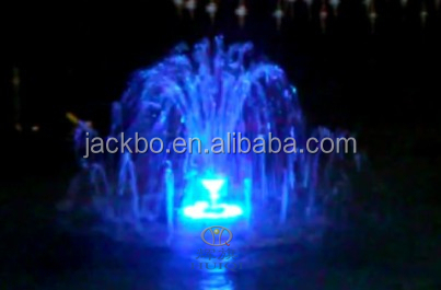 2015 Most popular Color Changing Multimedia Musical Water Fountain