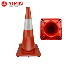 Latest design pole triangle road traffic cones