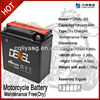 baterias acid lead battery for lifan motocycle/ with plate factory
