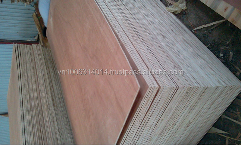 Red Hardwood Plywood/ Commercial Plywood for Sale with big promotion (ha@kego.com.vn)