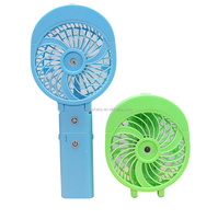 New arrivals Mini Rechargeable portable Handheld water mist fan for outdoor travelling