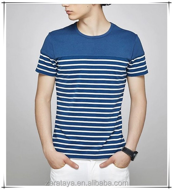 Alibaba china wholesale clothing striped men 39 s t shirt for Online shopping mens shirts
