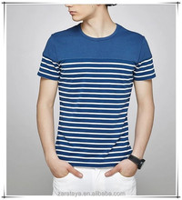 alibaba china wholesale clothing striped men's t shirt india online shopping high quality man short sleeve shirts