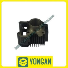 High performance YONGGAN factory OEM motorcycle cylinder JY110 49mm bore engine parts black
