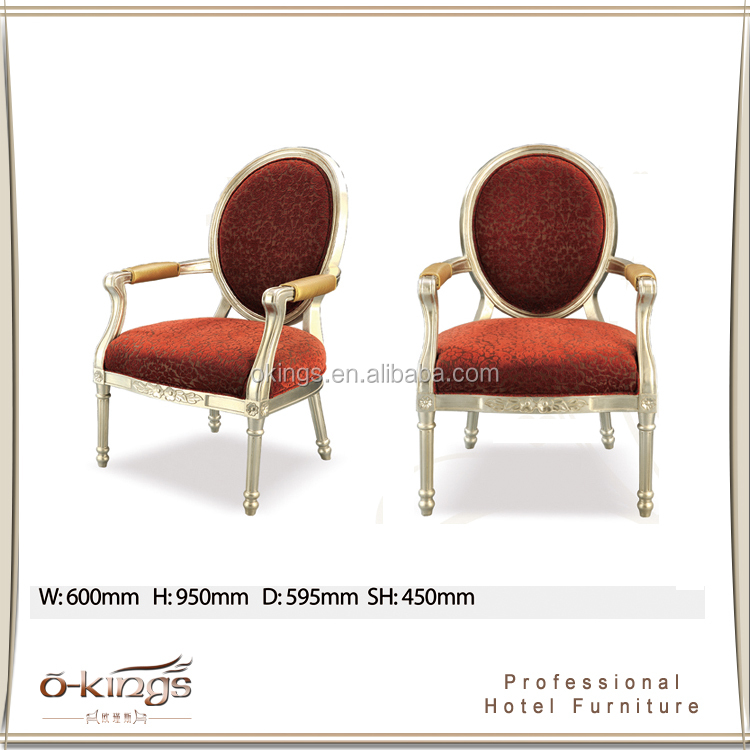 Nice design banquet hall round back chair for hotel