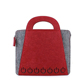 Wholesale promotional felt tote shopping bags handbags for women