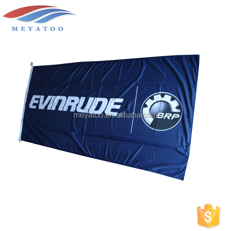 Wholesale Custom Outdoor Printing Flying Flags Advertising Fabric Banner For Sale