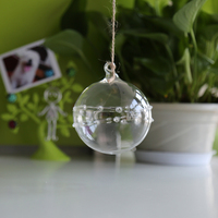 wholesale high quality decorative glass orbs