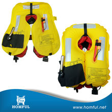marine life jacket swimming lift vest inflatable life jacket bladder