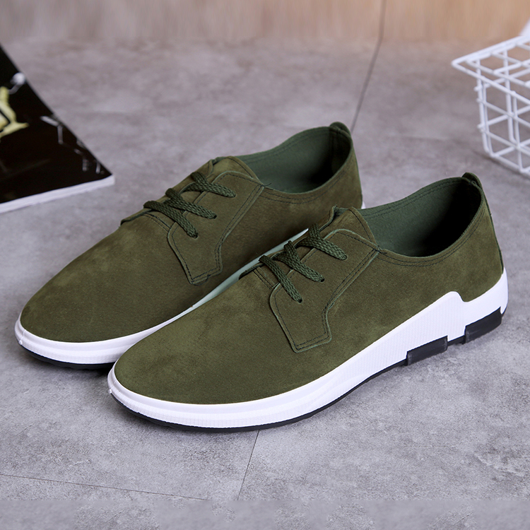 2017 New design green breathable mesh casual canvas shoes for <strong>men</strong>