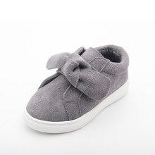 Custom shoes supplier grey leather funny kids school shoes