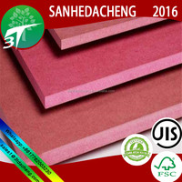 /High quality low price for furniture/ Formaldehyde Free MDF Board from Sanhedacheng Co.,Ltd.