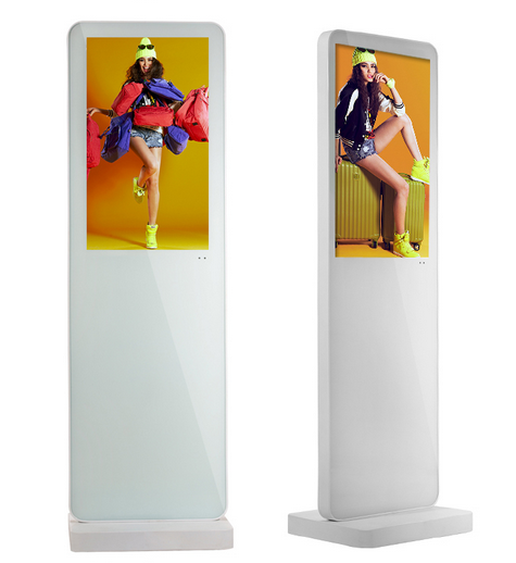 "Customized 22"" small screen touch kiosk LCD advertising digital signage player"