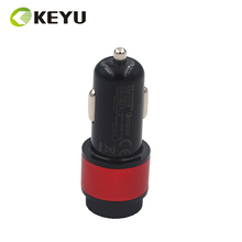 DC 5v3a power adapter metal car charger fashion mobile phone accessories factory price wholesale