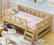 Folding Large Luxury Wood Wooden Baby Cot