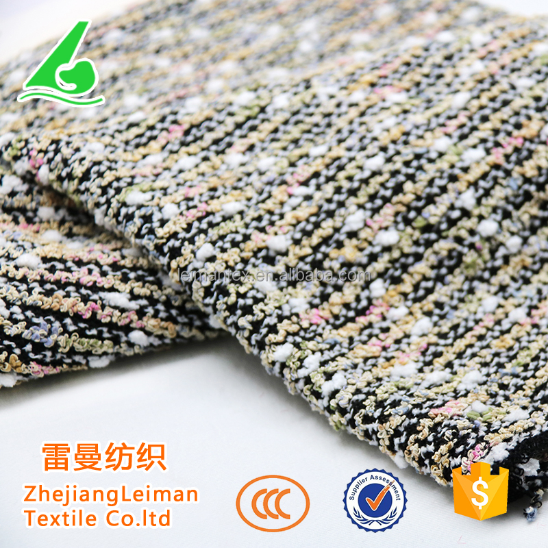 Shaoxing egyptian polyester stretch knitted cotton fabric