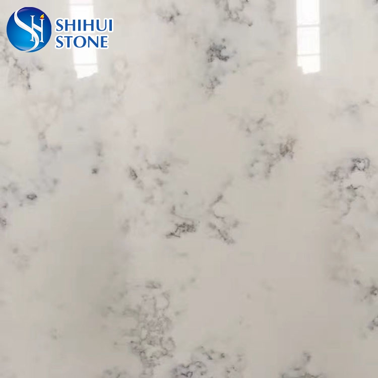 Hot-sale High Quality Beautiful White Veined Quartz Stone