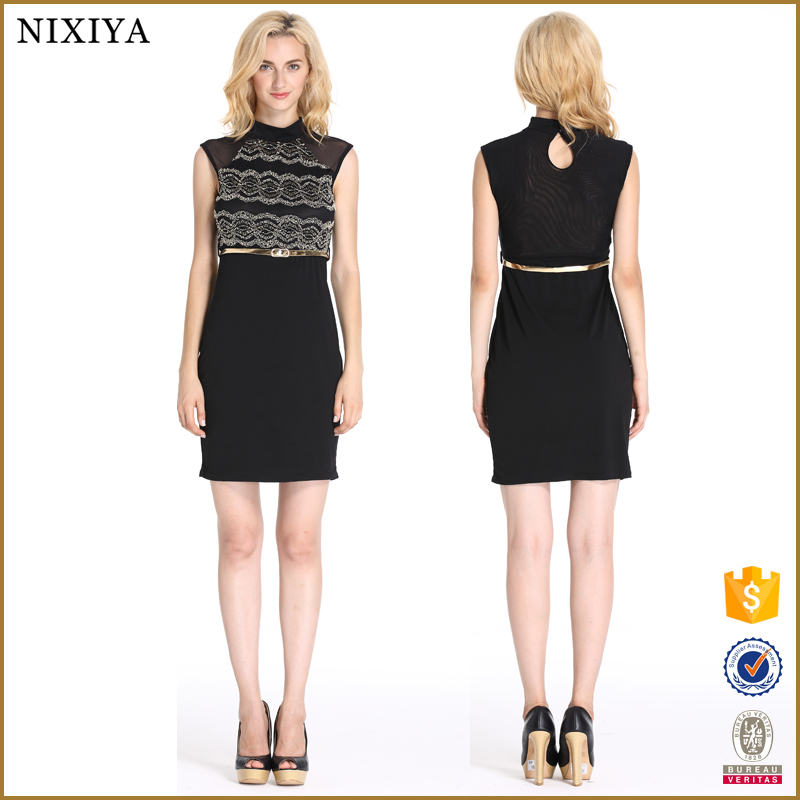 Short Casual Cocktail Dress Clothes Women Pencil Dresses