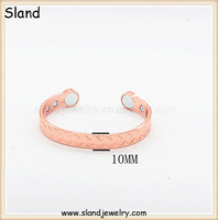 Sland Jewelry 2015 new product, solid copper bracelets for men and women for daily costume use