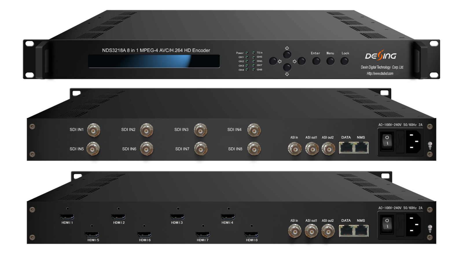 NDS3218A full 1080p hd encoder