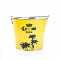 CMYK logo metal ice bucket beer ice bucket