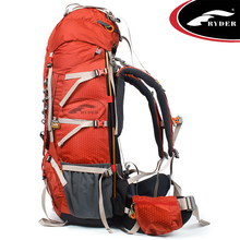Modern Design Custom Logo Travelling Climbing Mountain Camping Backpack 80L