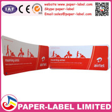 airline boarding pass ticket thermal