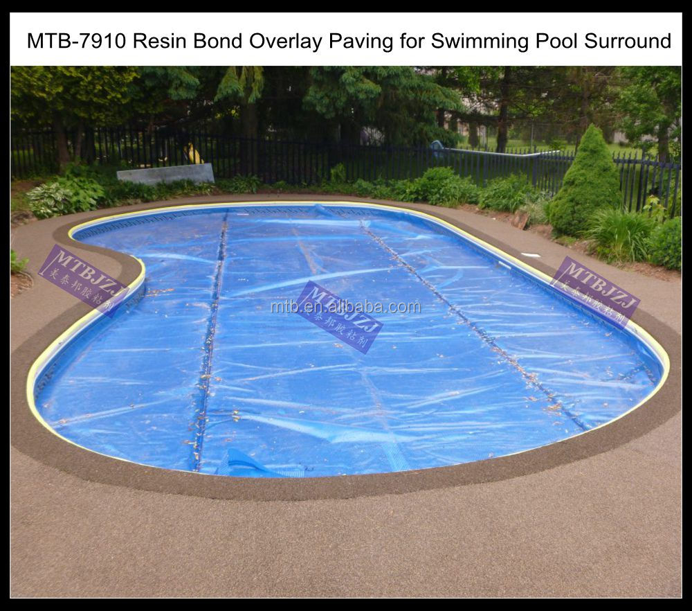 Resin Bonded Epoxy Paving for Swimming Pool Surround, View Epoxy ...