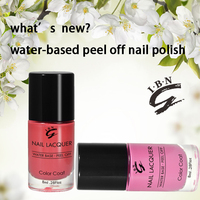 2016 Top Selling Factory Wholesale Customize Logo Yes Love Water Based Nail Polish
