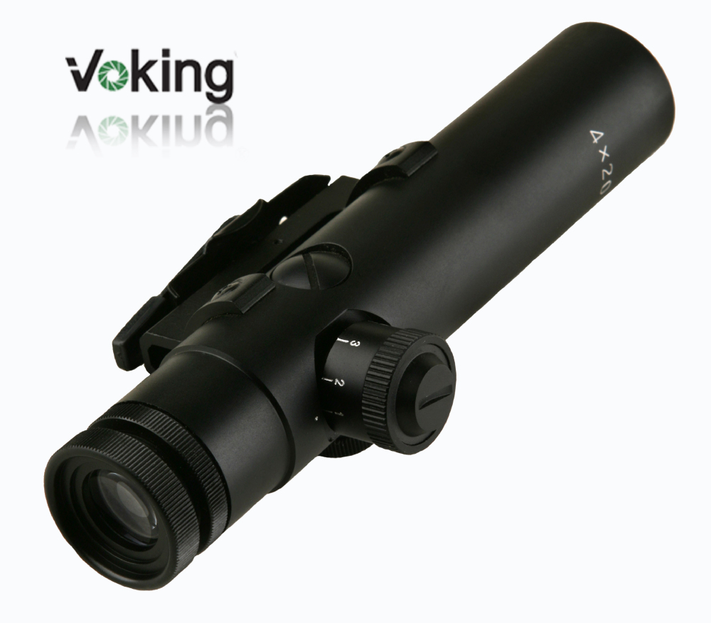 Voking/OEM 4X20IR riflescope with illuminated reticle wholesale AR15 part rifle scope