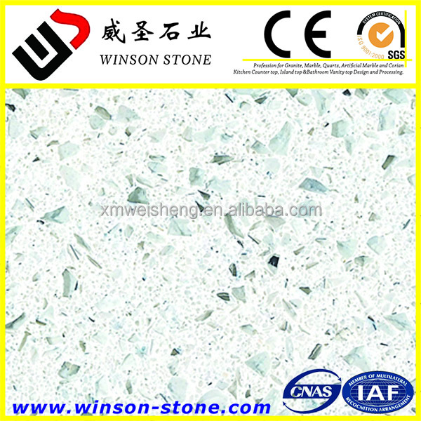 china supplier artificial quartz stone super white quartzite
