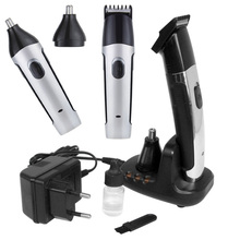 professional men trimmer 2 in1 mini beard trimmer with nose hair trimmer
