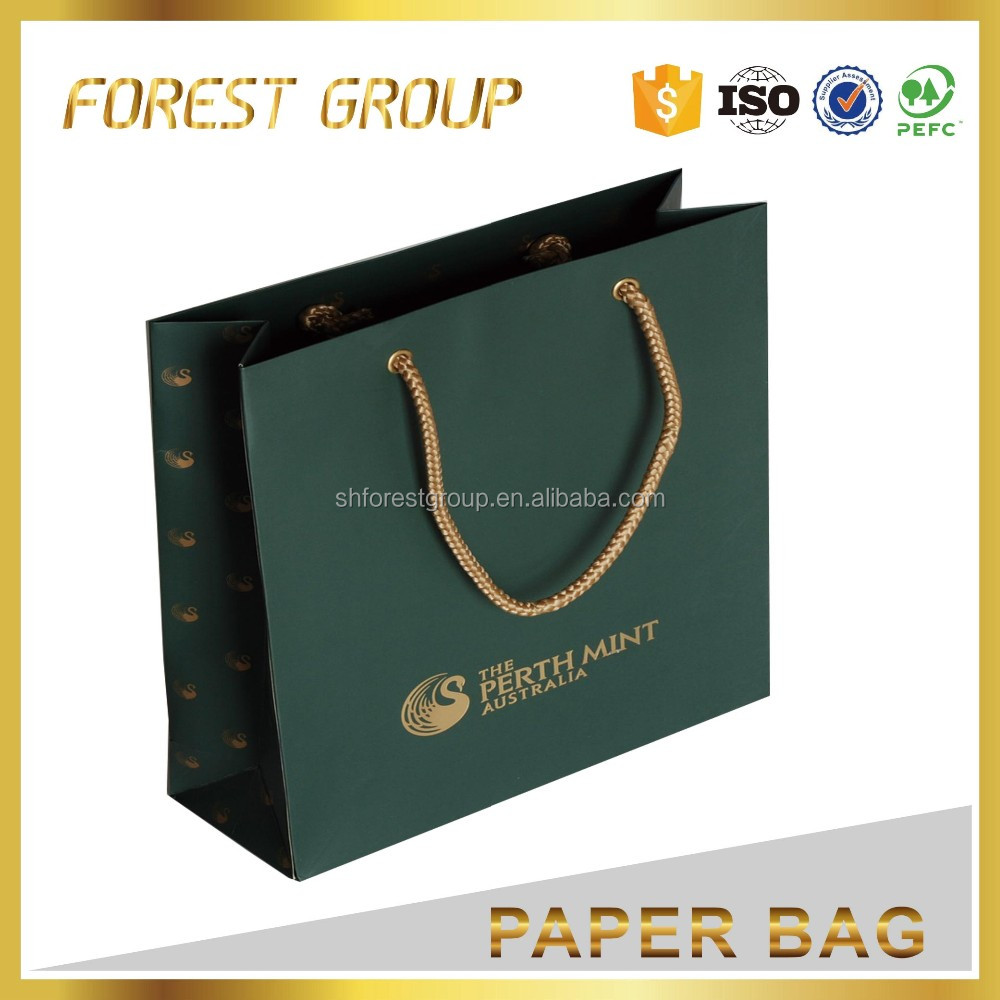 New design wedding jewelry gift paper bag