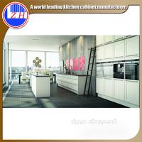 Elegant Modular White Lacquer Kitchen Cabinets Interior Kitchen Remodel